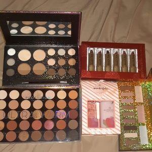 Bundle of makeup and lotion